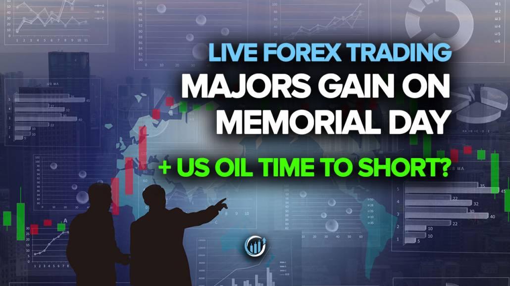 Majore si pridobijo na Dan spomina + čas nafte v ZDA za kratek čas?