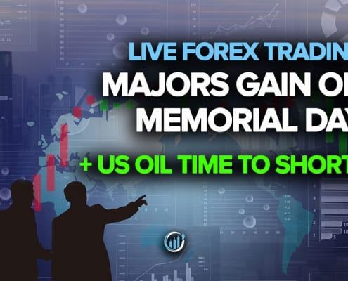Majors Gain On Memorial Day + US Oil Time to Short?