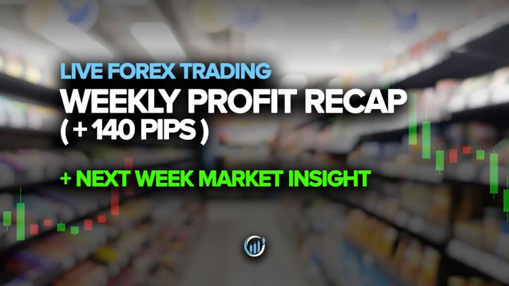 Youtube Forex Live Weekly Profit Recap Plus 140 pips Next week market insight May 15 2020