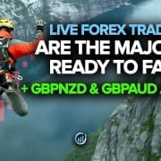 Live Forex Trading - Are the Majors Ready to Fall? GBPNZD and GBPAUD Are!