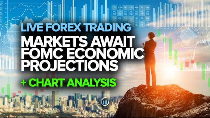 Markets Await FOMC Economic Projections