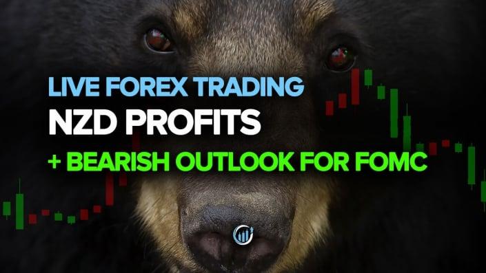 NZD Profits + Bearish Outlook for FOMC
