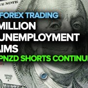 1.9 Million US Unemployment Claims + GBPNZD Shorts Continue?