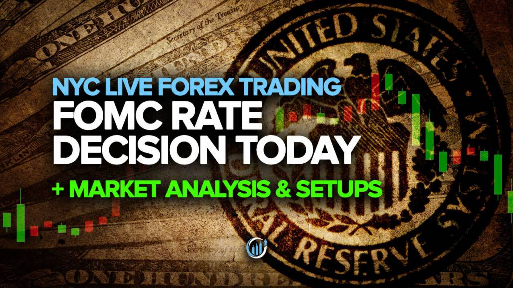 FOMC Rate Decision today - Market Analysis & Setups