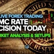 FOMC Rate Decision today - Market Analysis & Setups
