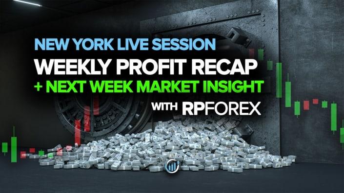 Торговля на Forex в реальном времени - еженедельный обзор прибыли + обзор рынка на следующей неделе