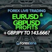 EURUSD ak GBPUSD pwofi + GBPJPY 143.666?