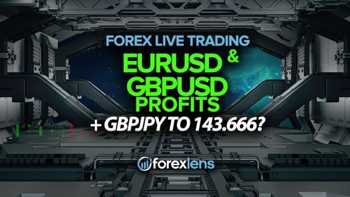 EURUSD and GBPUSD Profits + GBPJPY to 143.666?