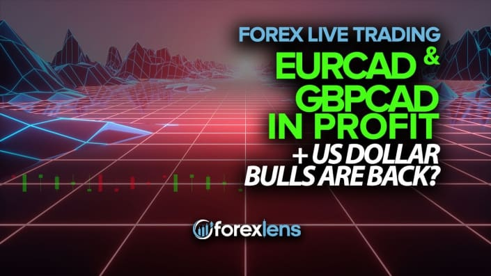 EURCAD and GBPCAD in Profit + US Dollar Bulls are Back?