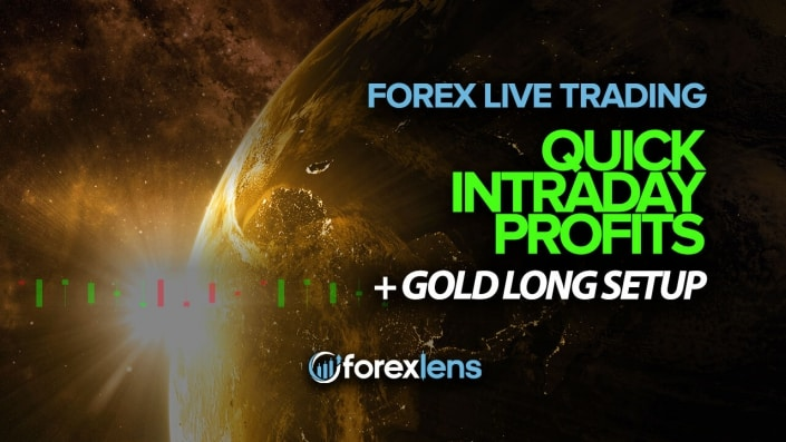 Forex Trading Room - Quick Intraday Profits + Gold Long Setup