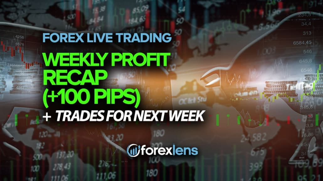 Weekly Profit Recap (+100 Pips) + Trades for Next Week