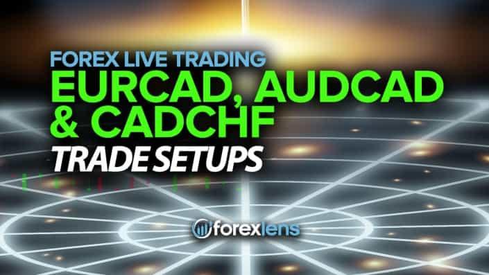 EURCAD, AUDCAD and CADCHF Trade Setups