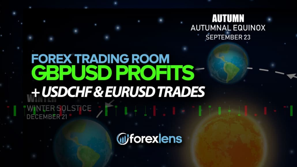GBPUSD Profits + USDCHF and EURUSD Trades
