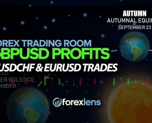 GBPUSD Profits + USDCHF and EURUSD Trades