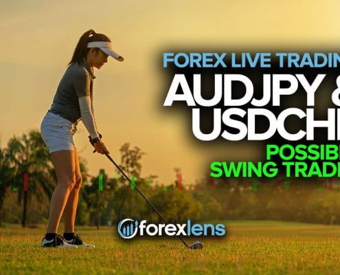 AUDJPY and USDCHF Possible Swing Trades