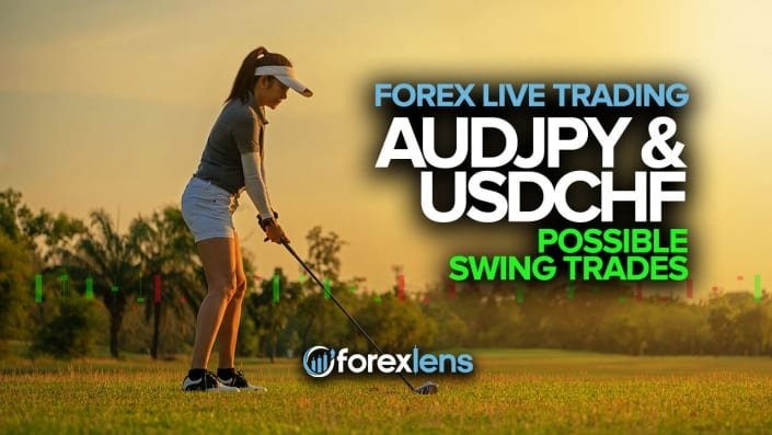 AUDJPY et USDCHF Possibles Swing Trades