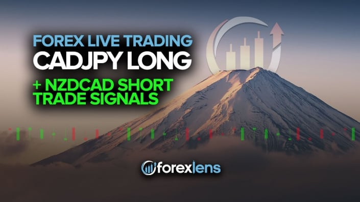 CADJPY Long and NZDCAD Short Trade Signals