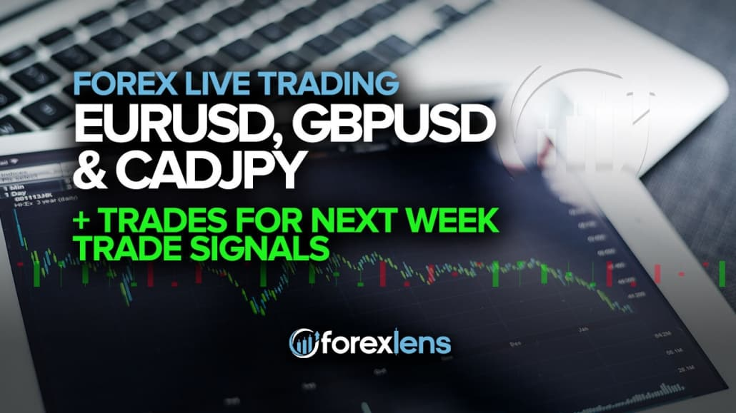 EURUSD, GBPUSD and CADJPY Trades for Next Week
