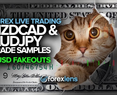 NZDCAD and AUDJPY Trade Ideas + USD Fakeouts