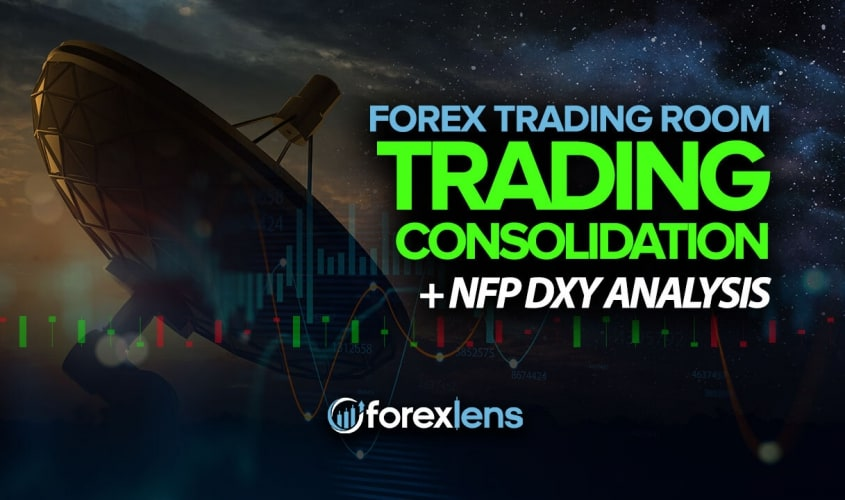 Trading Consolidation + NFP DXY Analysis