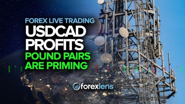 Las ganancias del USDCAD + los pares de libras se están preparando