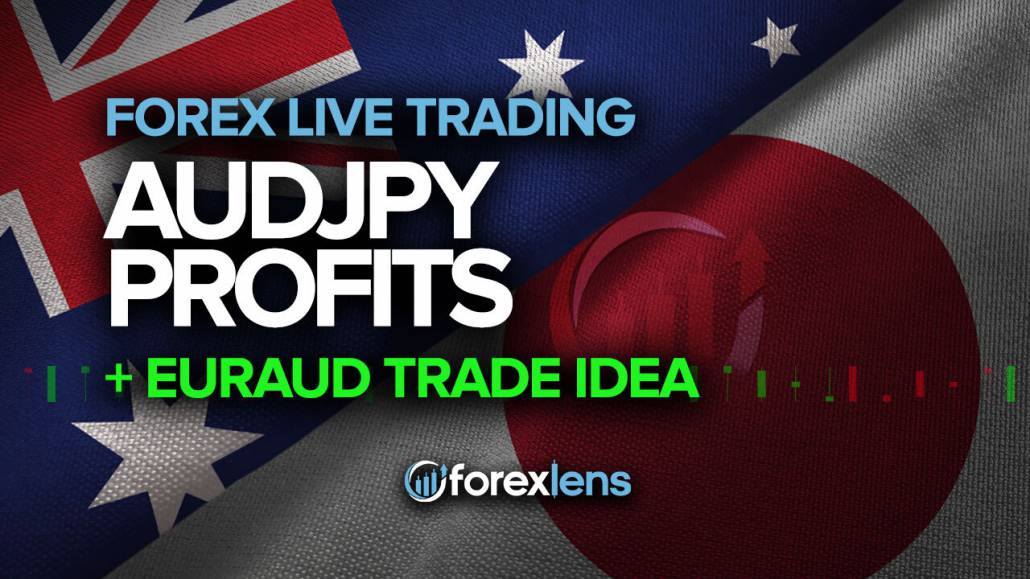 AUDJPY Profits (+110 Pips) + EURAUD Trade Idea
