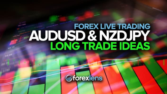 AUDUSD and NZDJPY Long Trade Ideas!