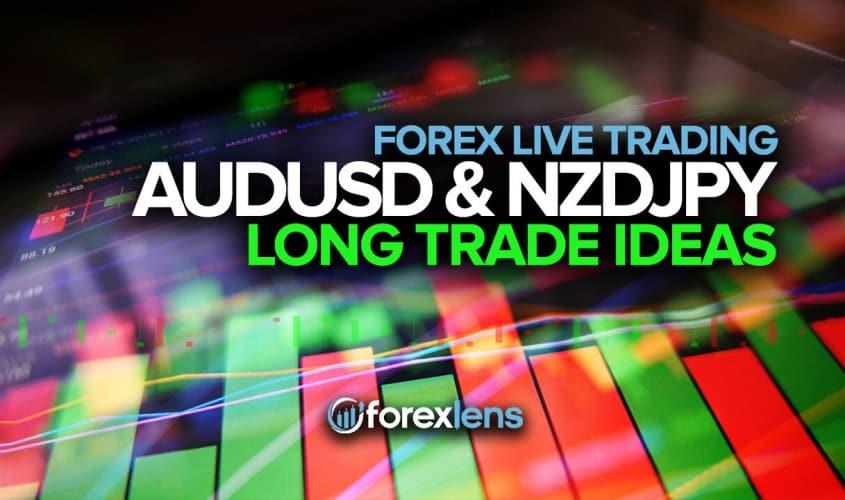 AUDUSD and NZDJPY Long Trade Ideas!