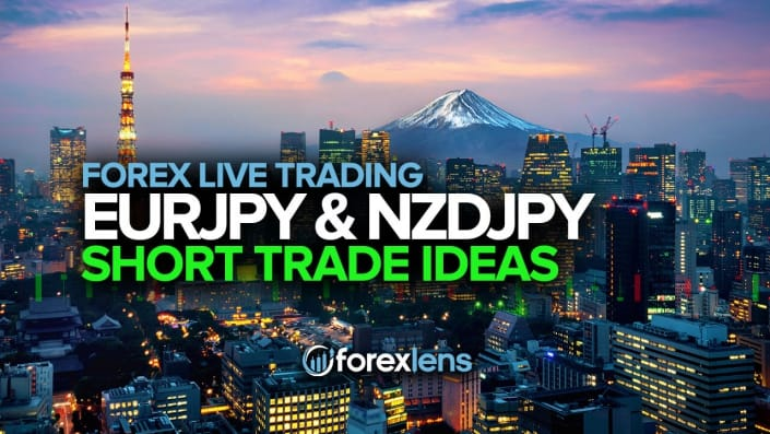 EURJPY and NZDJPY Short Ideas
