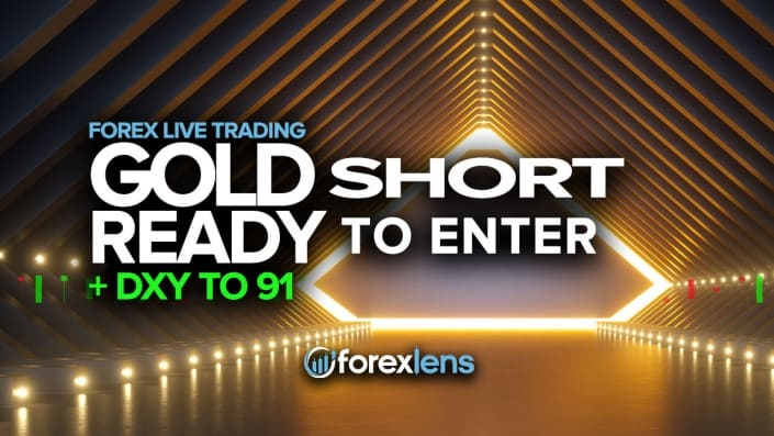 Gold Short Ready to Enter + DXY to 91