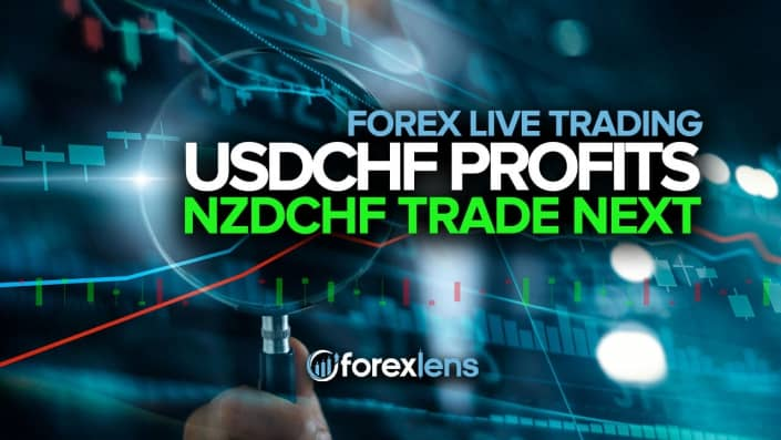 USDCHF Profits + NZDCHF Trade Next?