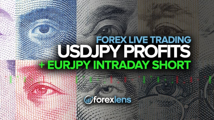 USDJPY Profits + EURJPY Intraday Short