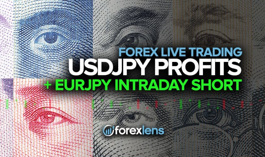 USDJPY Profits + EURJPY Intraday Short