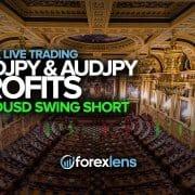 USDJPY and AUDJPY Profits + NZDUSD Swing Short?