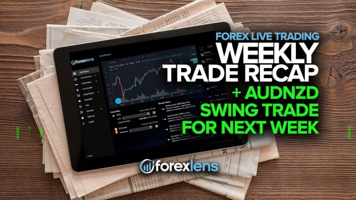 Weekly Trade Recap + AUDNZD Swing Trade for Next Week!