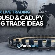 AUDUSD ja CADJPY pika kaubanduse ideed