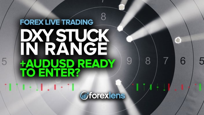 DXY Stuck in Range + AUDUSD Ready to Enter?