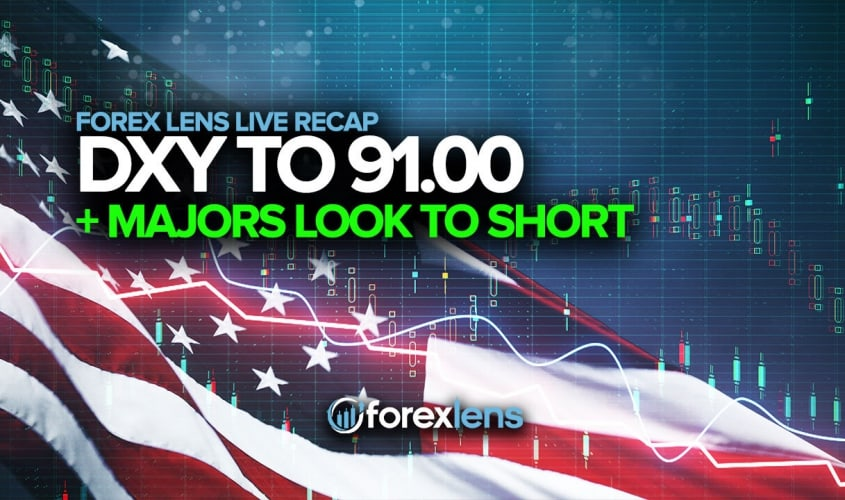 DXY to 91.00 and Majors Look to Short