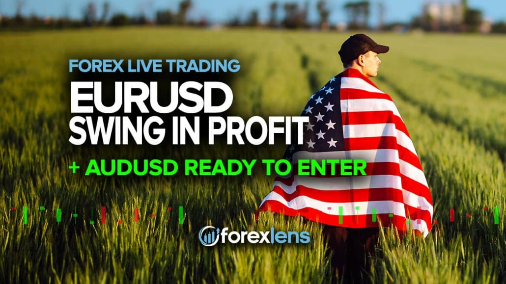 EURUSD Swing in Profit + AUDUSD Ready to Enter