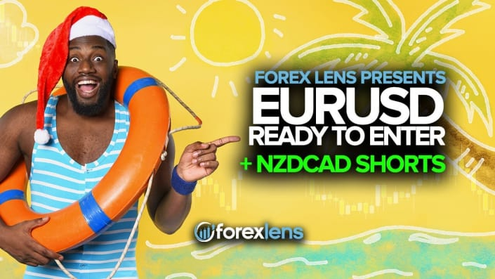 EURUSD Ready to Enter + NZDCAD Shorts