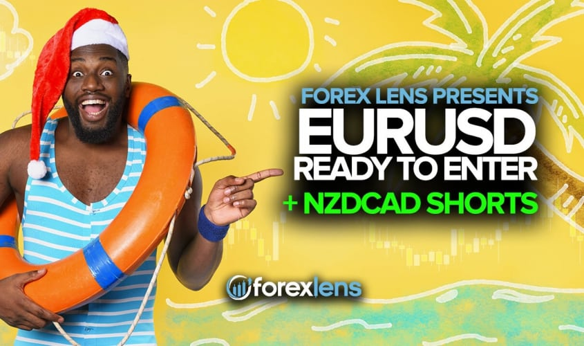 EURUSD Ready to Enter + NZDCAD Shorts