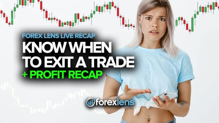 Knowing When to Exit a Trade + Profit Recap