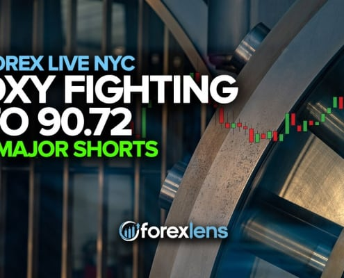 DXY Fighting to 90.72 + Major Shorts