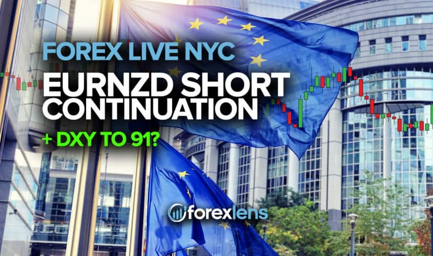 EURNZD Short Continuation + DXY to 91?