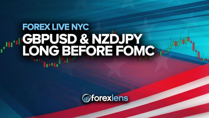 GBPUSD and NZDJPY Long Before FOMC