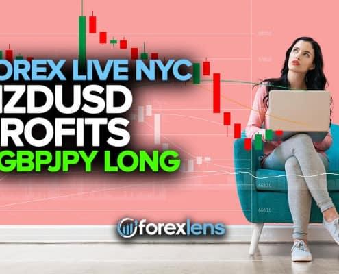 NZDUSD Profits + GBPJPY Long