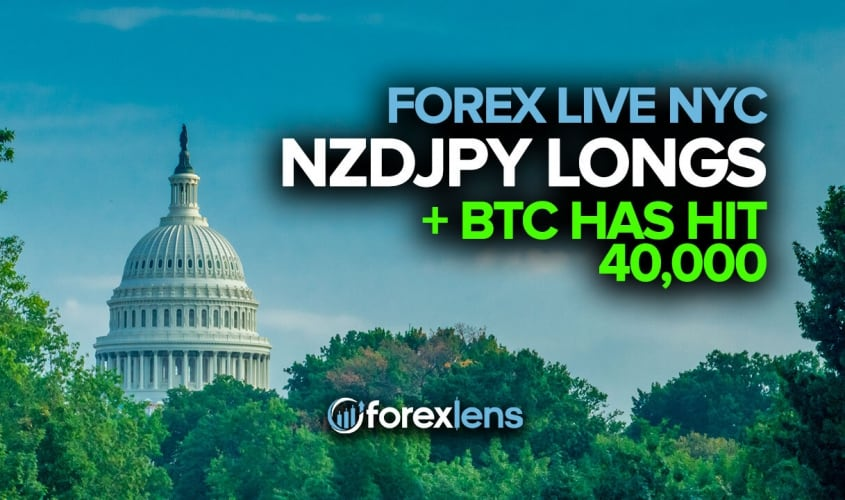 NZDJPY Longs + BTC Has Hit 40,000!