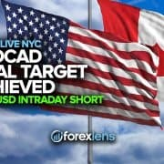 USDCAD Final Target Achieved + GBPUSD Intraday Short