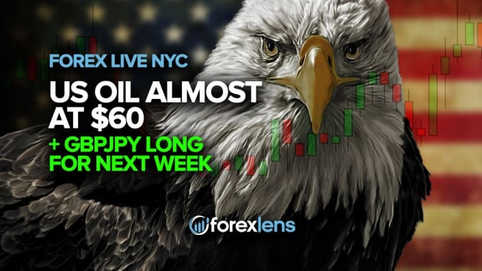 US Oil Almost at $60 + GBPJPY Long for Next Week (edited)