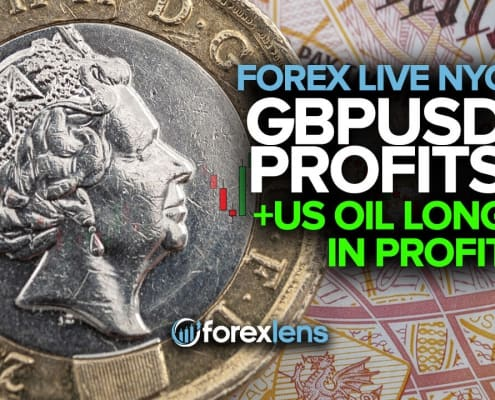 GBPUSD Profits +US Oil Long in Profit